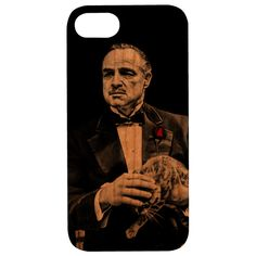 Godfather Vito Corleone Wooden Unique Case - iPhone 6 / 7 / 8