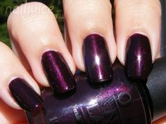 Black Cherry Chutney by OPI.... LOVE this color!