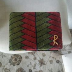 Vintage Roberta Di Camerino Velvet Wallet Super cute and funky authentic roberta wallet. Used a few times but in excellent condition for how old it is. My grandma purchased this in the 1970s. Comes with wallet dust bag included! Roberta di camerino Accessories Watches