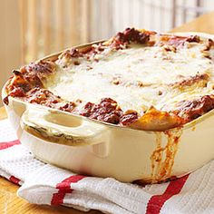 Extra-Easy Lasagna It really is as easy as it sounds and is every bit as good as its more time-consuming counterparts.