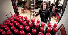 Coca-Cola Creates The Ultimate Freshman Student Icebreaker - http://www.creativeguerrillamarketing.com/guerrilla-marketing/coca-cola-creates-ultimate-freshman-student-icebreaker/