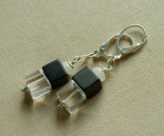 Silver Earrings – 925 Silver Onyx Earrings - Tilia – a unique product by Tilia_ on DaWanda