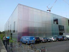 Dance School Building  #architecture #demeuron #herzog Pinned by www.modlar.com