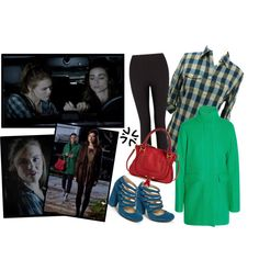 Lydia Martin 3x02 Chaos Rising pt. 1 by saniday on Polyvore featuring mode, J.Crew, Lyssé Leggings, BP., Chloé, TeenWolf, LydiaMartin, teenwolfoutfitshoppe and ChaosRising
