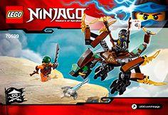 Cole's Dragon 70599 - LEGO Ninjago - Building Instructions - LEGO.com
