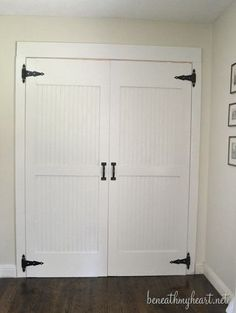 closet makeover. Including info on. All gun I want.