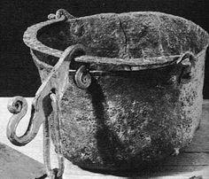Viking age / Iron Cauldron - Bengstarvet, Dalarna, Sweden