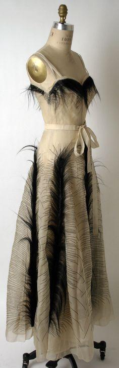 Jeanne Paquin evening dress