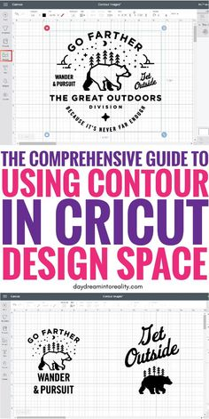 How to Contour in Cricut Design Space Like a Pro On todays tutorials you will be learning how to contour in Cricut Design Space like a Pro and we will also be checking out why is that sometimes the contour tool doesnt seem to work. Cricut Air 2, Cricut Help, Cricut Vinyl, Circuit Projects, Vinyl Projects, Pallet Projects, Crafts For Teens To Make, Diy And Crafts, Easy Crafts