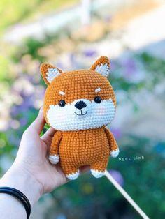 Diy Crochet Animals, Crochet Fox, Cute Crochet, Crochet Geek, Crochet Amigurumi Free Patterns, Crochet Animal Patterns, Crochet Doll Pattern, Crochet Dolls, Beginner Crochet Tutorial