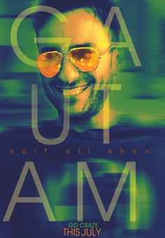 Cocktail New Solo Poster with Saif Ali Khan