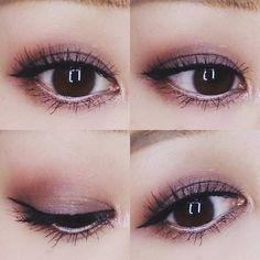 ♡今日のメイク♡ MACの限定パレット、ニフィセントミー!を使いました #maccosmetics  マックニフィセントミーアイシャドウパレット swisschocolates #アディクション ロンドロジー  #maceyeshadow #macnificentme #mac#eotd#motd#eyemakeup#makeup#asianeyes#asianmakeup#smokyeyes#matteeyes#アイメイク#メイク#化粧#スモーキーアイ#自まつ毛