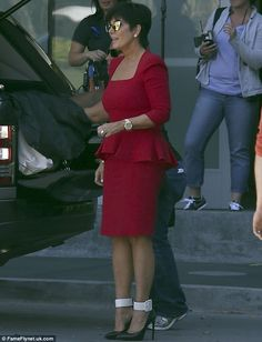Kris Jenner + dress