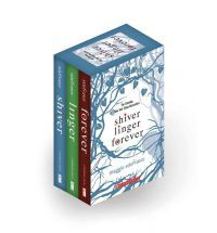 Shiver trilogy by Maggie Stiefvater. Great story, although aimed at the teenage market i really enjoyed it.