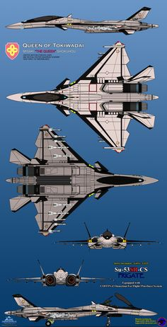 "Here is a heavily modified Frigate, and renamed as (COFFIN System) Frigate, in ""Academy"" Squadron livery. Frigate Queen of Tokiwadai Stealth Aircraft, Fighter Aircraft, Fighter Jets, Military Jets, Military Aircraft, Military Drawings, Spaceship Concept, Aircraft Design, Jet Plane"