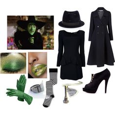 """Minus the green makeup! """"The Wicked Witch of the West"""""""