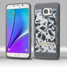 MYBAT TUFF Trooper M-Stand Galaxy Note 5 Case - Urban Camouflage