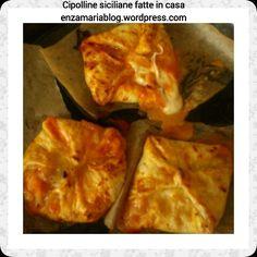 Cipolline siciliane fatte in casa,  tavola calda siciliana enzamariablog.wordpress.com