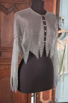 The Attic Collection-Custom Chain Mail Jacket