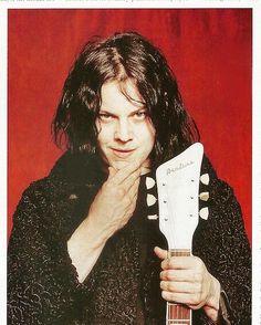 Jack White- Guitar World- May 2004