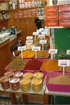 Spice Market . Israel