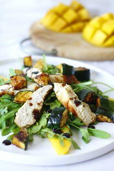 Just My Delicious: Sałatka z Kurczakiem i Mango