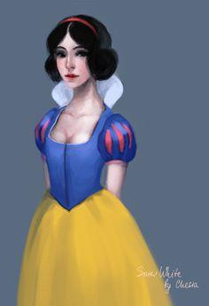 Disney Snow White by ~MeryChess on deviantART