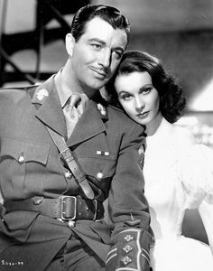 Robert Taylor & Vivien Leigh. Robert Taylor aka Arlington Brough, was born in Crete, Nebraska and attended my alma mater there, Doane College!