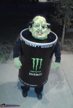Monster Energy - Homemade Halloween Costume