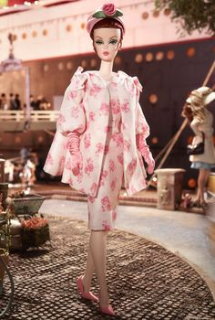 Luncheon Ensemble Barbie® Doll | Barbie Collector *Silkstone Designed by: Robert Best Release Date: 2/14/2013
