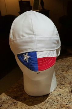 Texas flag welding cap