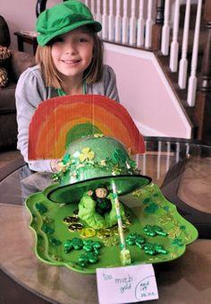 Leprechaun Trap Photos: Chloe Jane's Leprechaun Hat Trap