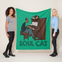 Soul | Joe & Mr. Mittens at the Piano Fleece Blanket Animated Movies For Kids, Perfect Music, Music Items, Playing Piano, Music Decor, Decor Ideas, Gift Ideas, Kid Movies, Music Gifts