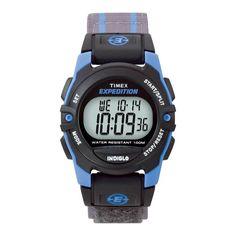 Timex - Expedition Wristwatch - Blue/Gray/Black, Men's