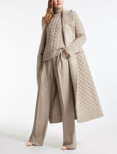 ALDA Пальто MaxMara. Бежевое пальто из кашемира, пальто вязаное, красивое демисезонное пальто, пальто на осень, стильное пальто. Индивидуальный пошив по вашим меркам в интернет-ателье Namaha3d. www.livemaster.ru/namaha WhatsApp +38(098)345-7224