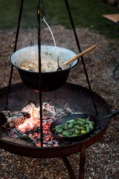 Slow Living at Elmley Reserve - On The Plate Open Fire Cooking, Fire Food, Bushcraft Camping, Slow Living, Camping Meals, Base Foods, Outdoor Cooking, Outdoor Life, The Great Outdoors