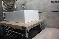 Sink Countertop, Countertops, Disabled Bathroom, Scaffold Boards, Scaffolding, Vanity Units, Industrial Furniture, Bathtub, Home Decor