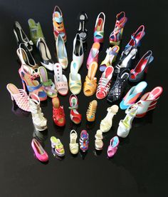 MINIATURE SHOES BY MANOLO BORDERA