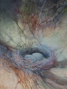 Dorothy Von Rhee.    Watercolor