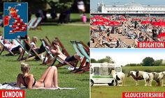 When's the Hosepipe Ban Starting ? Hotter than Hawaii! Britain to bask in temperatures of 34C this week