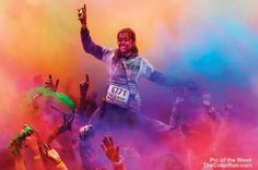 Pic of the Week! #NoFilter   Credit: The Color Run Portugal