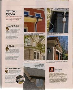 99 Best Gutters Images Exterior Design House Styles