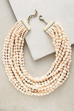 Dandelot Beaded Necklace  - ANTHROPOLOGIE