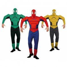 Disfraces de Personajes  Disfraz de Araña Musculosas para hombre