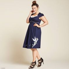 All we need is faith, trust, and this flirty pixie dust dress from  Torrid's latest Disney fashion line inspired by the one and only Tinker Bell.