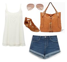 """perfect summer day"" by a-girl-who-loves-shopping on Polyvore featuring Zara, M&Co, A.N.A and H&M"