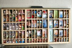 Type drawers | The DIY Adventures - upcycling, recycling and DIY from around the world