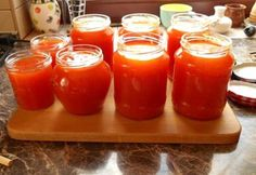 Sárgabaracklekvár ahogy Fancsa készíti Hot Sauce Bottles, Preserves, Squash, Salsa, Jar, Desserts, Food, Lemonade, Tailgate Desserts