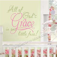 would be awesome in Grace's room!! ♥