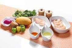 Ingredientes para Ceviche Caribeño